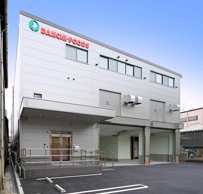 食品工場の建設施工実績「株式会社 第一食品本部 大阪工場」