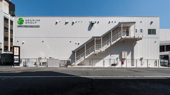 食品工場の建設施工実績「鴻池運輸株式会社 食品加工場 KIZU process center」