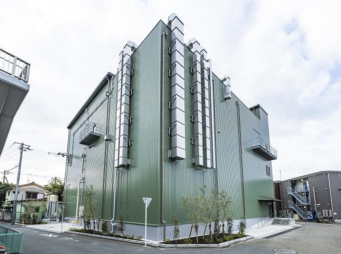 食品工場の建設施工実績「堂本 田町」