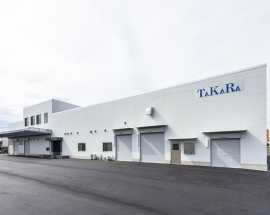 食品工場の建設施工実績「宝産業株式会社 関東工場」