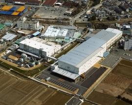 食品工場の建設施工実績「サントリー食品工業 宇治川工場」