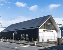 食品工場の建設施工実績「堀口珈琲 横浜ロースタリー」