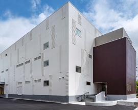 食品工場の建設施工実績「日仏商事株式会社 チョコレート物流倉庫」